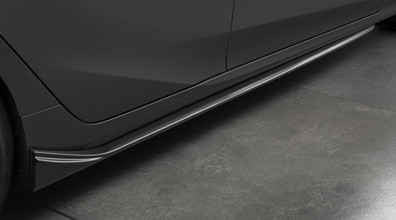 Prius Prime Aero Side Splitter - Toyota of Rockwall Parts