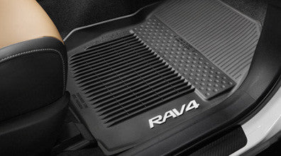 RAV4 All Weather Floor Liners - Toyota of Rockwall Parts