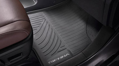 Sienna All Weather Floor Liners - Toyota of Rockwall Parts