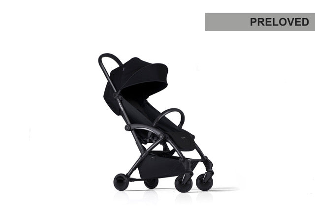 Preloved | Bumprider Connect Black| Black 3in1 Travel System