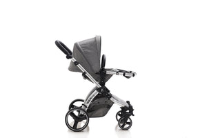 The Bug 3in1 Travel System | Lunar Grey 100% LINEN MATERIAL
