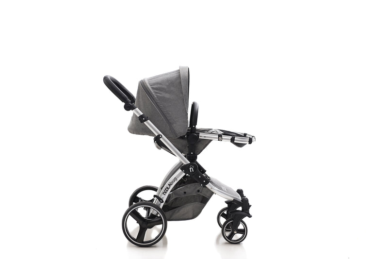 The Bug 3in1 Travel System with iSize | Lunar Grey 100% LINEN MATERIAL 2020 MODEL