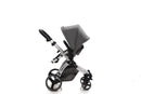 The Bug 4in1 Travel System | Lunar Grey 100% LINEN MATERIAL with ISOFIX BASE 2020 MODEL