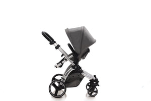 The Bug 4in1 Travel System | Lunar Grey 100% LINEN MATERIAL & ONE360º
