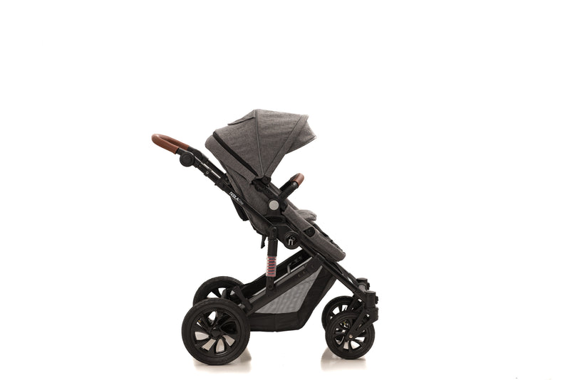 The Elite 2in1 Travel System| Lunar Grey 2020 MODEL
