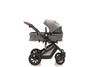 The Elite 4in1 Travel System with NEW iSize Car Seat & ISOFIX | Lunar Grey