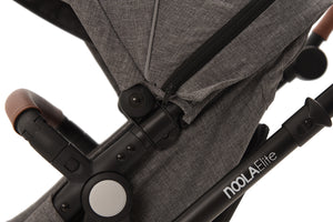 The Elite 3in1 Travel System with NEW iSize Car Seat | Lunar Grey