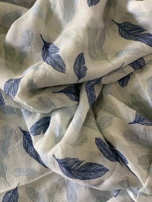 Bamboo Swaddle | Feather Wisp