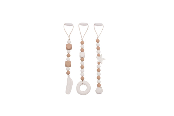 Silicone Teething Beads | GOLD Edition by JeléBebé