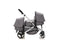The Duo Travel System Lunar Grey | Stroller Only