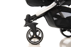 The Bug 4in1 Travel System | Lunar Grey 100% LINEN MATERIAL & ONE360º {PRE-ORDER}