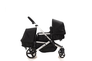 The Duo Travel System Midnight Black | Newborn & Toddler Package