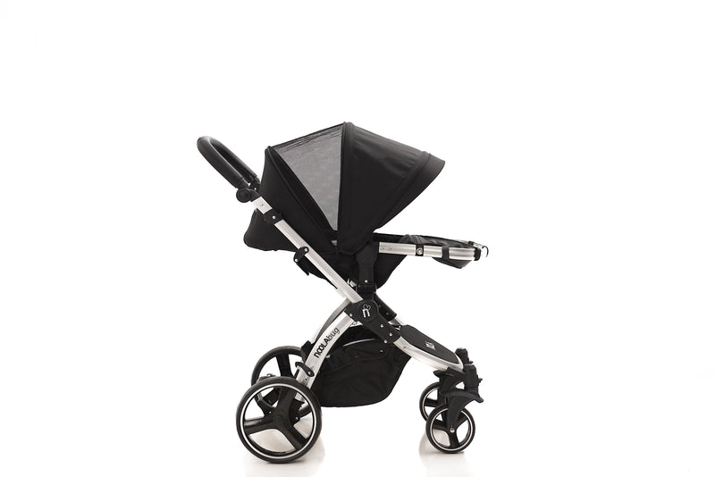 The Bug 3in1 Travel System with iSize 2021 MODEL | Midnight Black