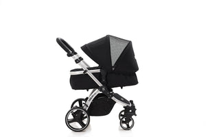 The Bug 4in1 Travel System with ISOFIX BASE | Midnight Black {PRE-ORDER}