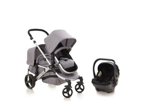 The Duo Travel System Lunar Grey | Newborn & Toddler Package