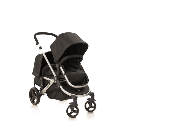 The Duo Travel System Midnight Black | Stroller Only