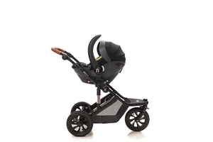 The Sprint 4in1 Travel System with NEW iSize Car Seat & ISOFIX | Lunar Grey