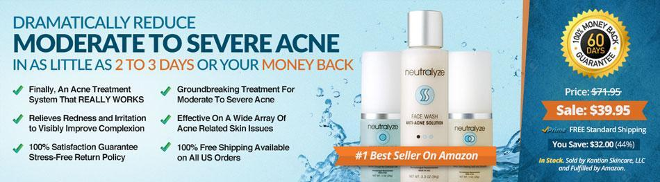 Neutralyze Moderate To Severe Acne Treatment
