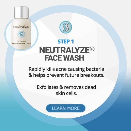 Step 1 - Neutralyze® Face Wash