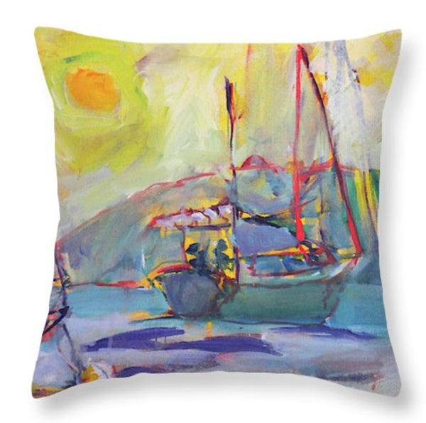 """Acadia Anchor"" Throw Pillow"