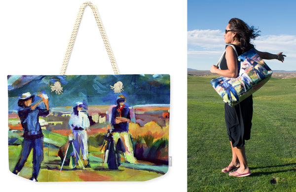 """Driving the Green"" Weekender Tote"