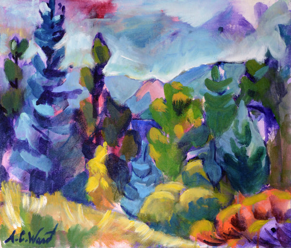 """Heart Wilderness"" Original Painting"
