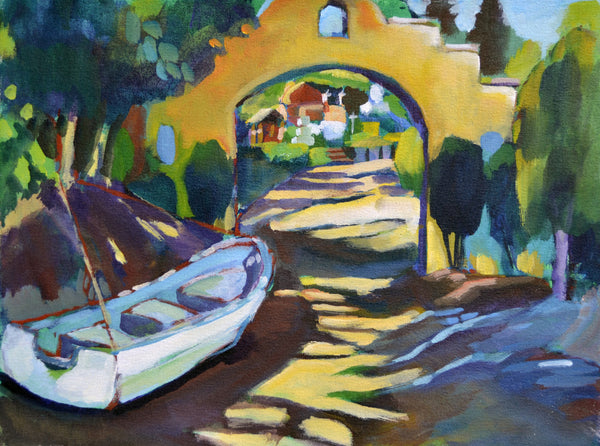 """Road to Small Beach"" Original Painting"