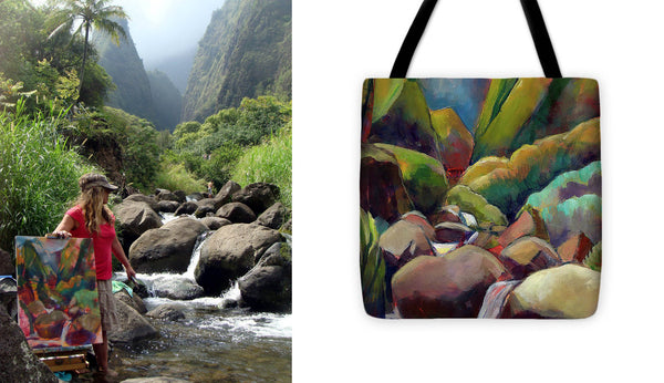 """Healing Waters"" Tote"