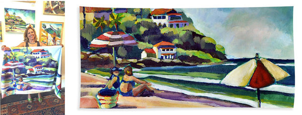 """Sayulita"" Beach Towel"