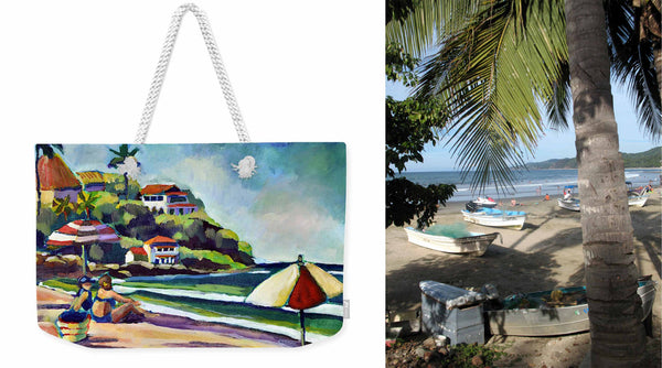 """Beach Afternoon"" Weekender Tote"