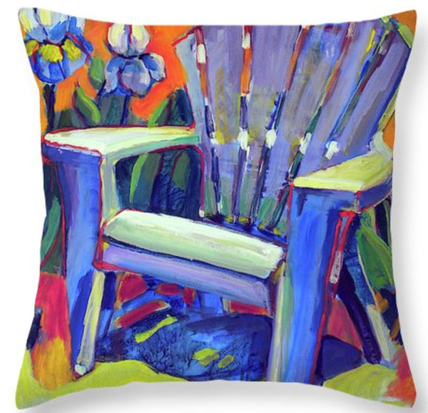 """How does your garden grow?"" Throw Pillow"