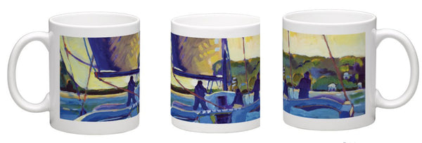 """Trimaran"" Coffe Mug"
