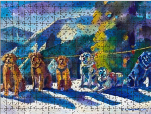 """Mountain Stewards"" Puzzle"