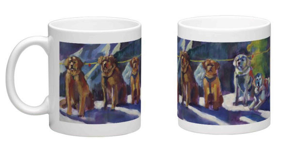 """Mountain Stewards"" Coffee Mug - Color"