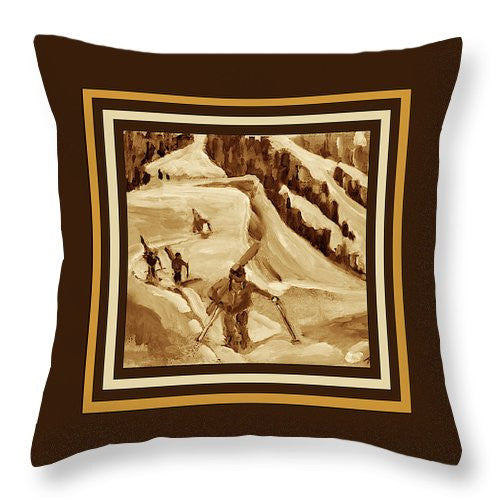 Ridge Hikers Pillow - Chocolate