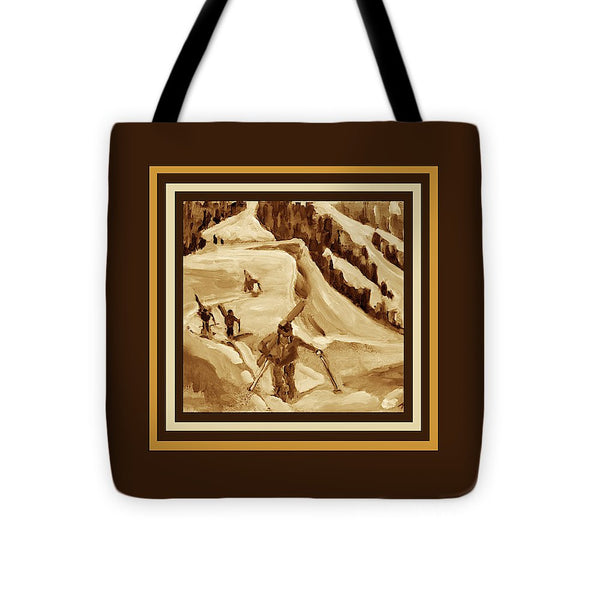 """Ridge Hikers"" Tote (Chocolate)"