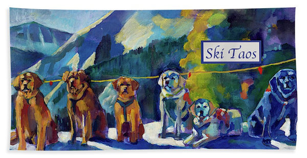 """Mountain Stewards"" Alpine Spa Towel (Full Color)"