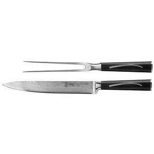 Damascus Series: 2 Piece Carving Set