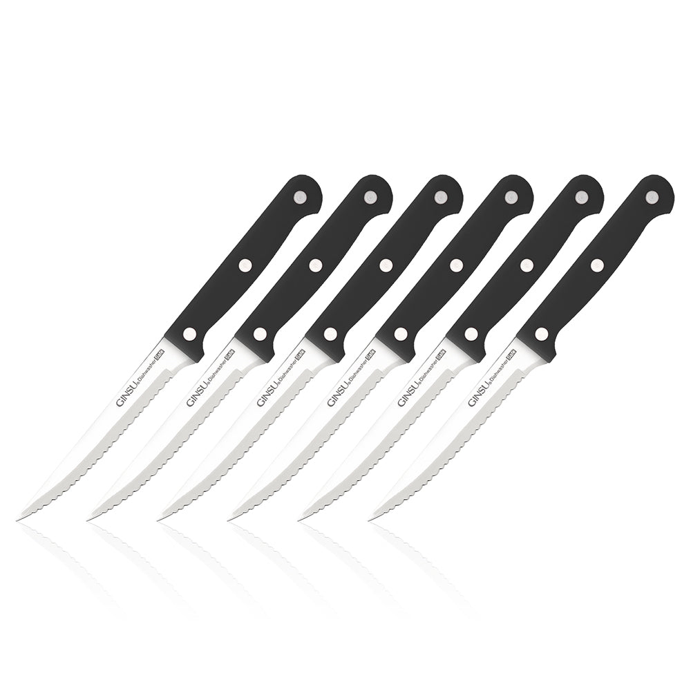 Essentials Series: 6 Piece Steak Knife Set - Ginsu