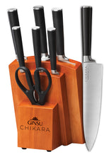 Chikara Series: 8 Piece Cutlery Set with Toffee Block - Ginsu