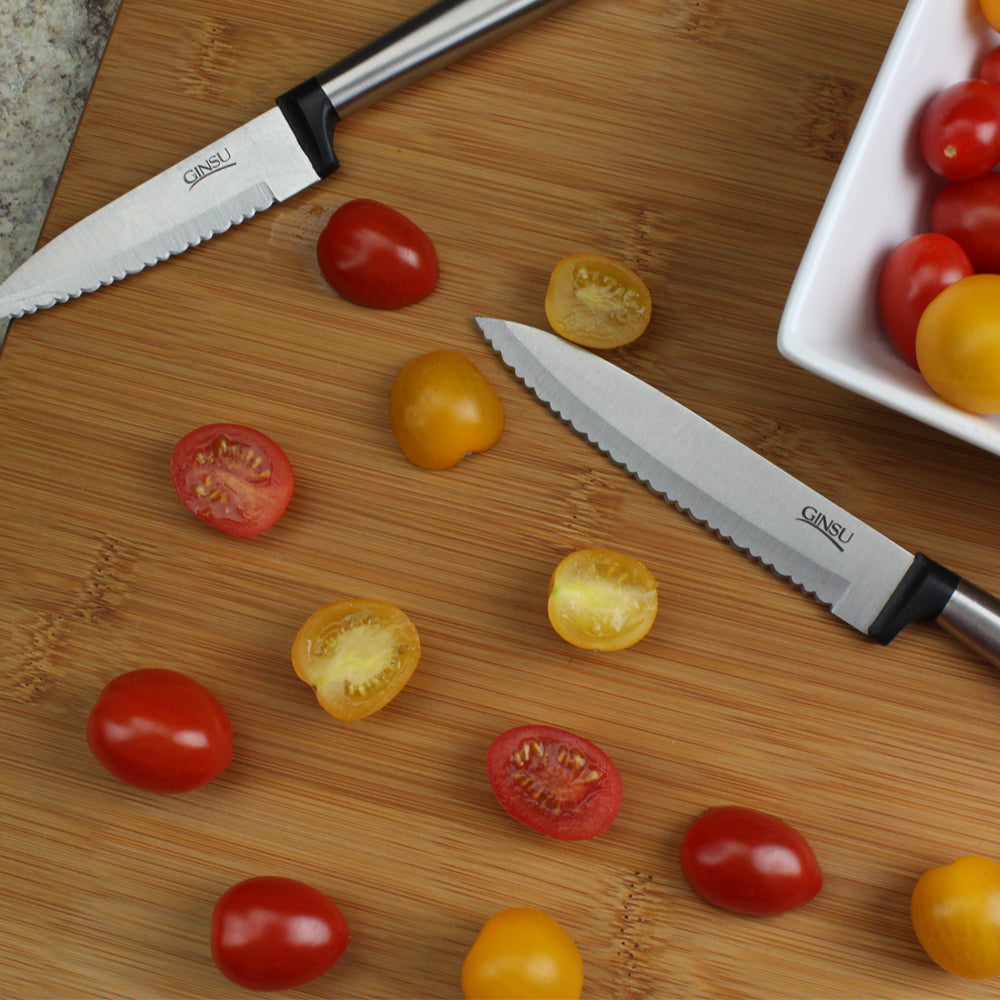 "Ginsu Koden Series: Stainless Steel 3.5"" Paring Knife"