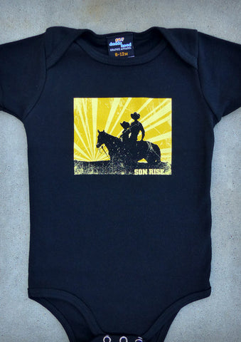 Son Rise – Baby Boy Black Onepiece & T-shirt
