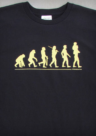 Evolution – Men's Daddy Black T-shirt