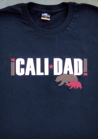 Calidad – California Men's Daddy Black T-shirt