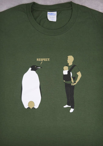 Respect – Men's Daddy Olive Green T-shirt