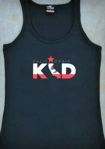 California Kid – California Women's Black Tank Top