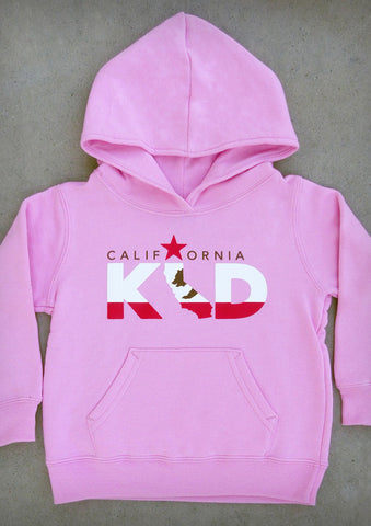 California Kid – California Youth Pink / Hot Pink Hoodie