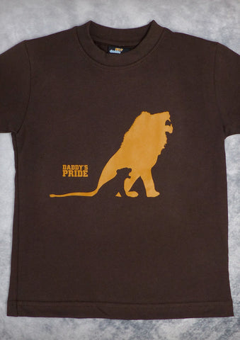 Daddy's Pride – Youth Boy Chocolate T-shirt