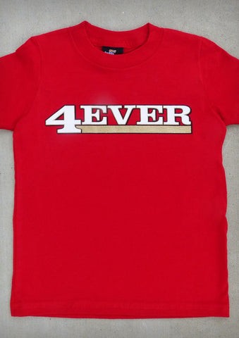 4Ever (San Francisco 49ers) – Youth Boy Red T-shirt