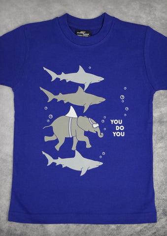 You Do You – Youth Boy Cobalt Blue T-shirt